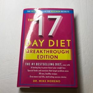 The 17 Day Diet Hardcover Book by Dr. Mike Moreno
